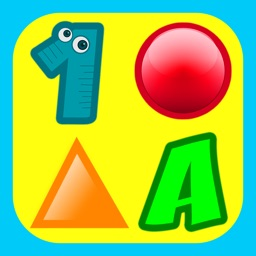 3 Preschool Educational Games for Kids: Learn Colors, Teach Shapes, Sorting, Train Memory