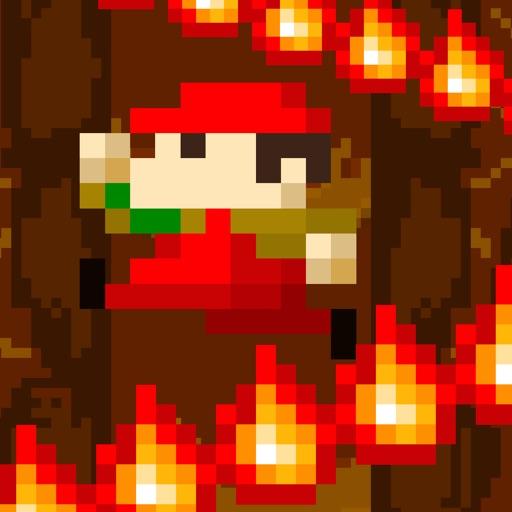 ピコピコ!炎の崖のぼり