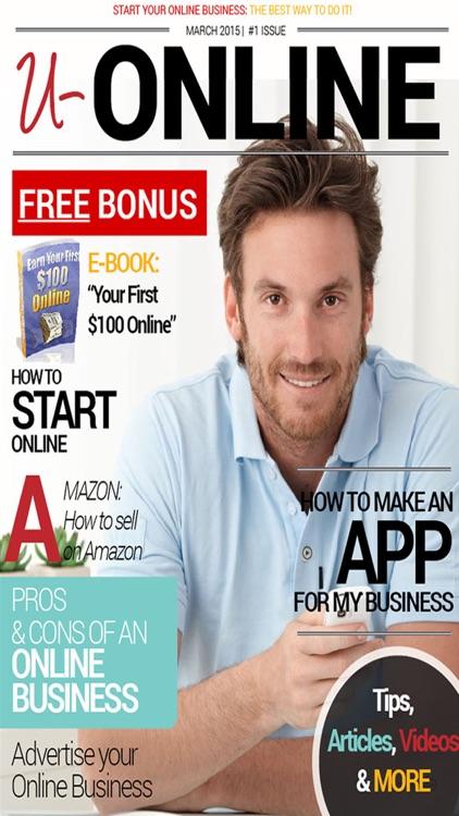 'u-ONLINE: Make Money Online with Home Business Ideas Magazine