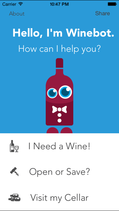 Winebot - Learn about wine!
