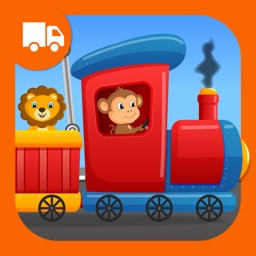Zoo Animals Train - fun game for preschool kids who love Trains Trucks and Things That Go