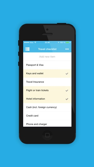 Checklist  Travel Packing List On The App Store