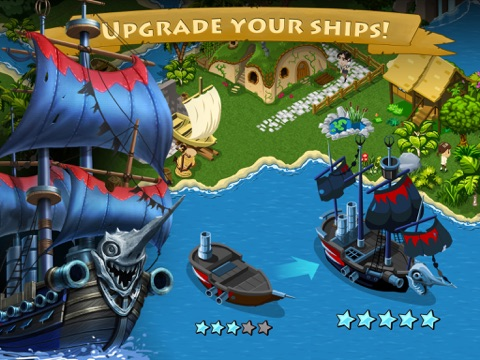 Tap Paradise Cove: Explore Pirate Bays and Treasure Islands для iPad