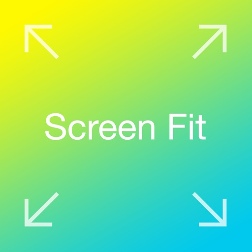 Screen Fit - Custom Your Picture for Big Screen Background and Wallpaper for iOS 8