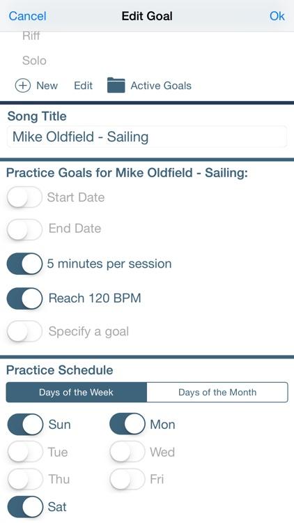 Praxis: Music Practice Journal screenshot-4