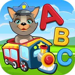 Kids Vehicle Educational Puzzle Games for Preschool - toddler learning about animal fire truck, train, car and much more!