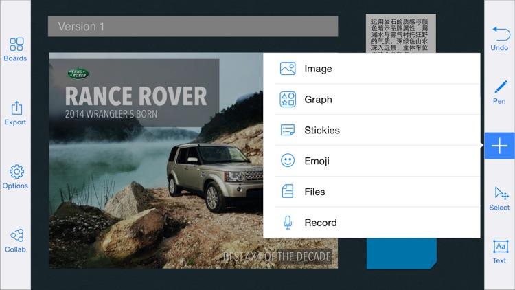MolaSync - Collaborative cloud notes!  Sound recording, Sharp Drawing, Typing, Chatting and collaboration screenshot-3