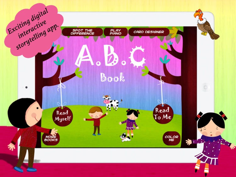ABC Book for children by Story Time for Kids