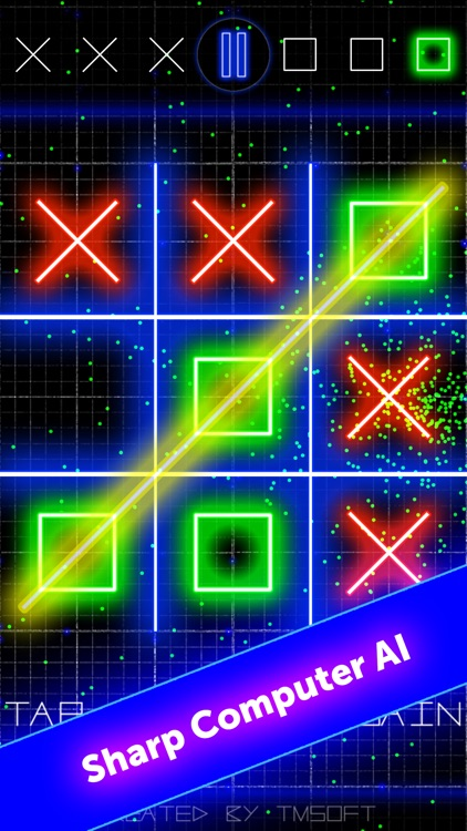 Tic Tac Toe Glow by TMSOFT