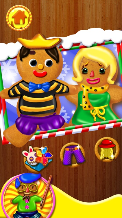 Gingerbread Kids - Christmas Food Games screenshot-4