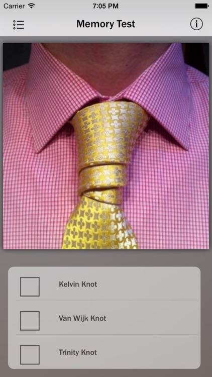 Necktie Knots screenshot-3