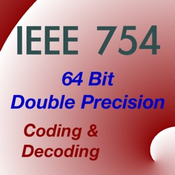 IEEE 754 double precision floating-point converter
