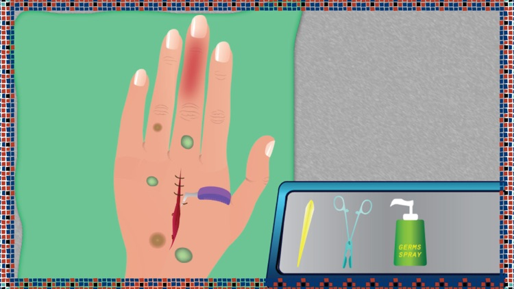 Hand Surgery - Free doctor surgeon and medical care game for kids screenshot-3