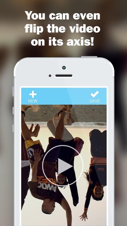 Rotate Video - Flip, Turn & Horizontal Rotation Editor screenshot-3
