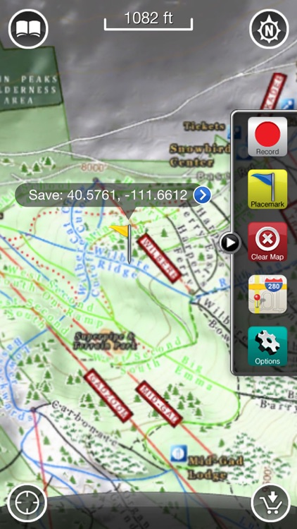 Alta & Snowbird GPS: Ski and Snowboard Trail Maps