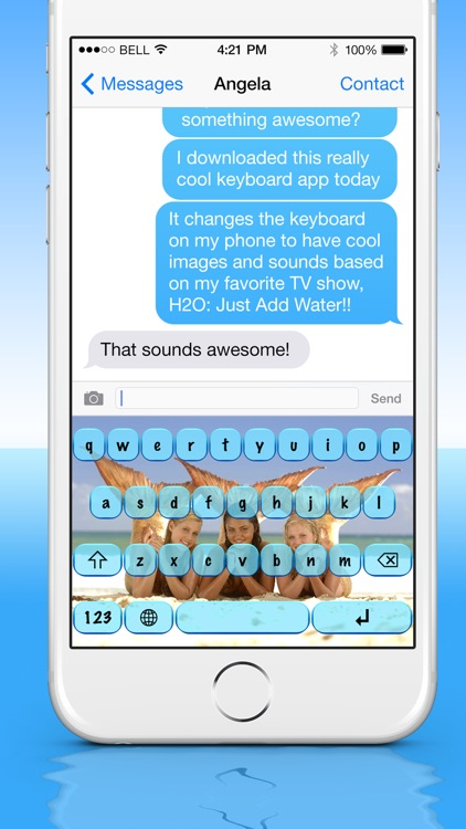 keySonic Custom Keyboards -- for H2O: Just Add Water
