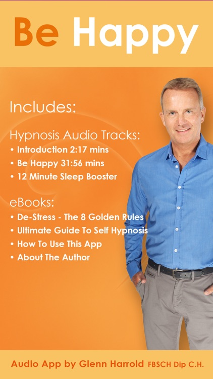 Be Happy - Hypnosis Audio by Glenn Harrold