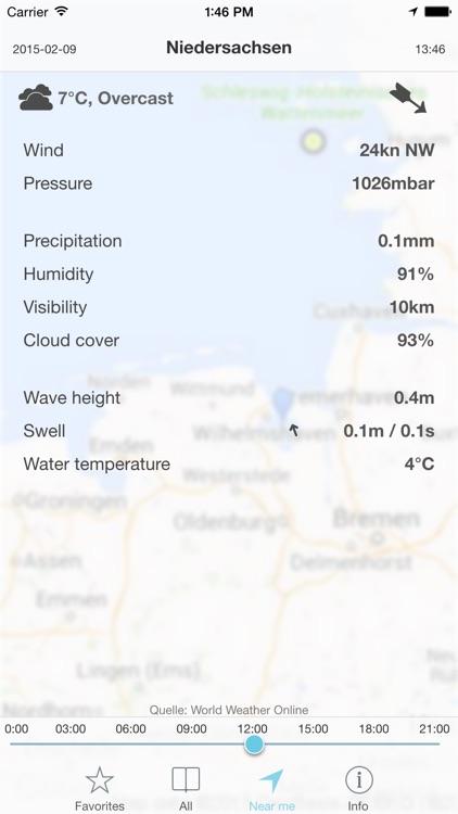 SegelWetter - Wetter für Segler, im Taschenformat
