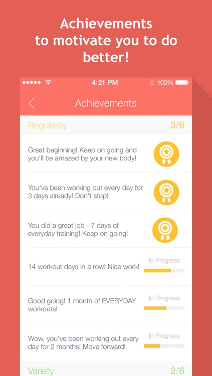 7 minute workouts: bodyweight training & high intensity exercises screenshot-3