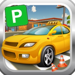 City Taxi Parking Simulator 3D - Test your Parking and Driving Skills in a Real City