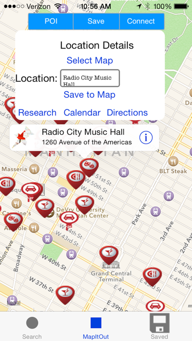 Screenshot of MapItOut: RTP3