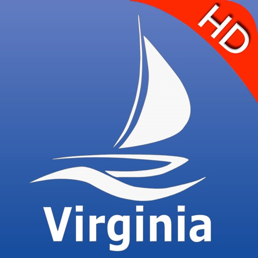 Virginia GPS Nautical charts pro