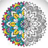 Adult Coloring book - Mandala, Flowers, Animals and Beautiful Patterns