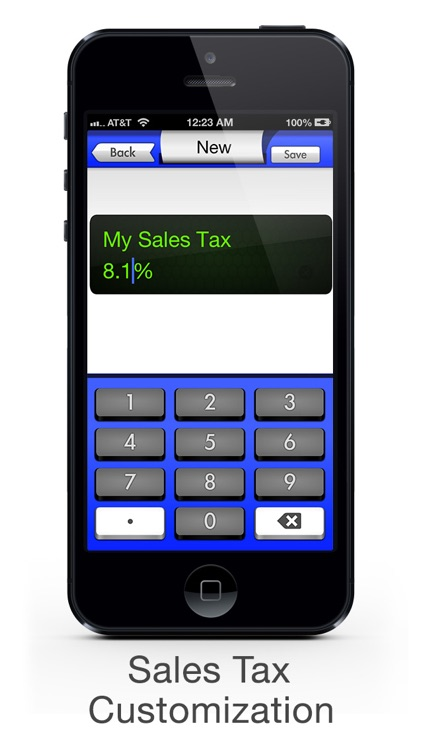 Sales Tax Calculator with Reverse Tax Calculation - Tax Me Pro - Checkout, Invoice and Purchase Log screenshot-4
