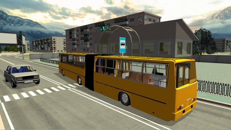 Russian Bus Simulator 3D screenshot-4