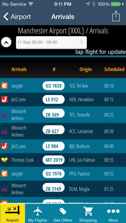 Manchester Airport Pro (MAN) +Flight Tracker Radar screenshot-2