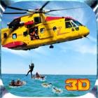 Ciudad de Rescate Helicóptero Piloto Vuelo 3D Simulador - Rescuer Equipo Chopper Aparcamiento Juego icon