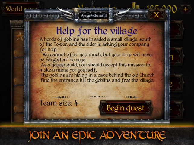 Arcane Quest 2 on the App Store