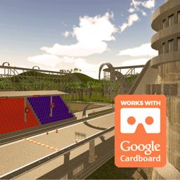 Ícone do app VR Race Track Tour for Google Cardboard