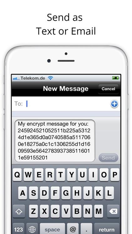 Secure Text Message screenshot-3