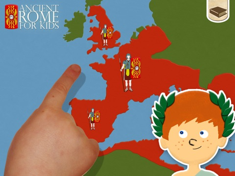 Ancient Rome For Kids screenshot one