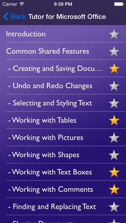 Tutor for Microsoft Office for iPad - Learn Excel, Word, and Powerpoint for iPad screenshot-4