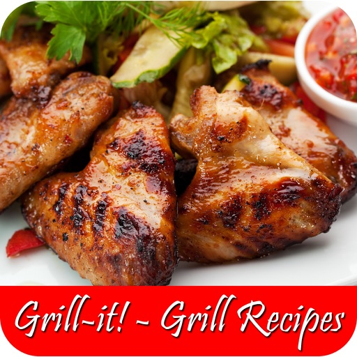 Grill-It! - Grill Recipes For Steak and Asian Hot-Que Grill Sauce For Chicken