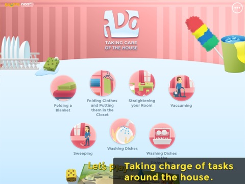 Ido Chores Daily Activities And Routine Tasks For Kids With Special