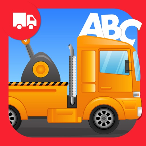 ABC Tow Truck Free - an alphabet fun game for preschool kids learning ABCs and love Trucks and Things That Go