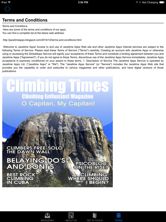 Climbing Times screenshot-1