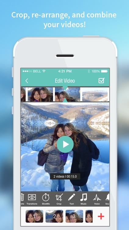 Video lab - free video editor movie collage photo video editing for Vine, Instagram, Youtube screenshot-3