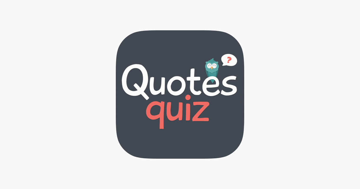 Quotes Quiz on the App Store
