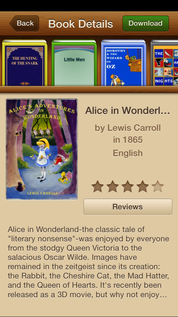Books - 23,469 Classics To Go. The Ultimate Ebooks And Audiobooks Library Screenshot