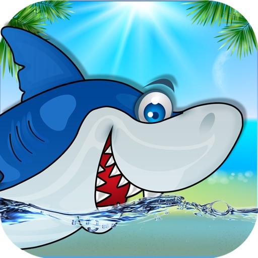 Shark Jump - Shark Run and Dash Eat Starfish Explorer and Adventure Fun Game