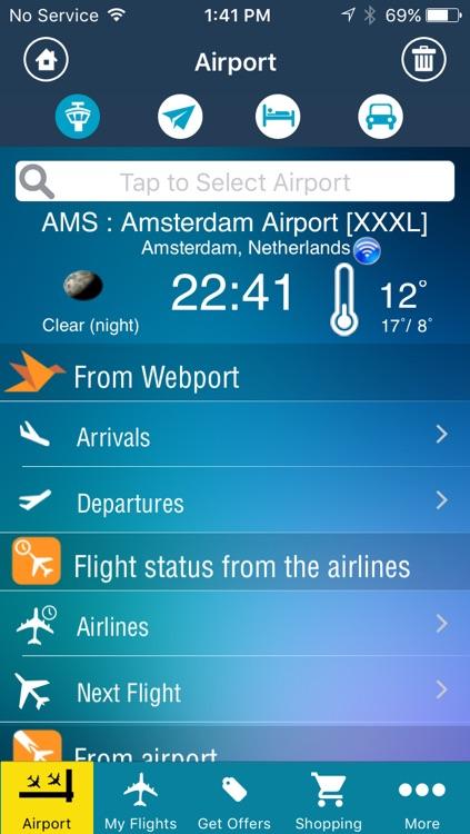 Amsterdam Airport Pro (AMS) Flight Tracker Radar