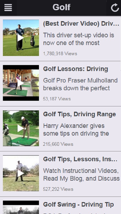 Easy Golf Tips - Golf Instruction and Tips to Improve Your Golf Swing screenshot-3