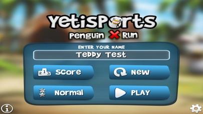 Screenshot #1 pour Yetisports Penguin X Run*