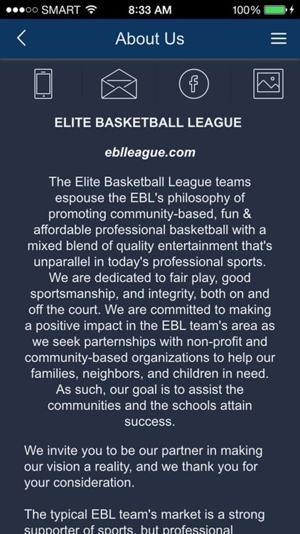 Elite Basketball League