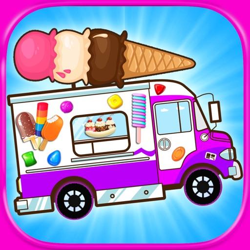Ice Cream Truck Games - Kids FREE