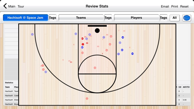 Basketball Stat Tracker screenshot-3